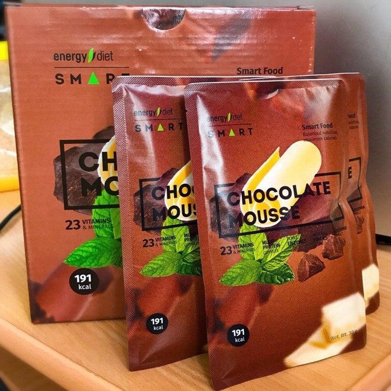 Energy Diet Smart «Шоколадный мусс»