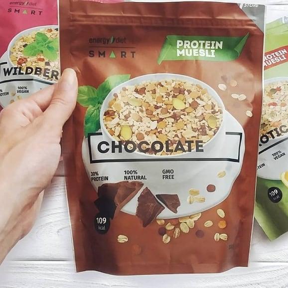 Мюсли Energy Diet Smart Chocolate
