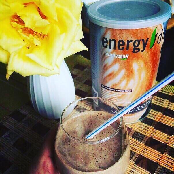 Коктейль «Капучино» Energy Diet