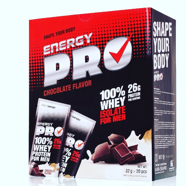 Сывороточный протеин для мужчин Energy Pro. Шоколад