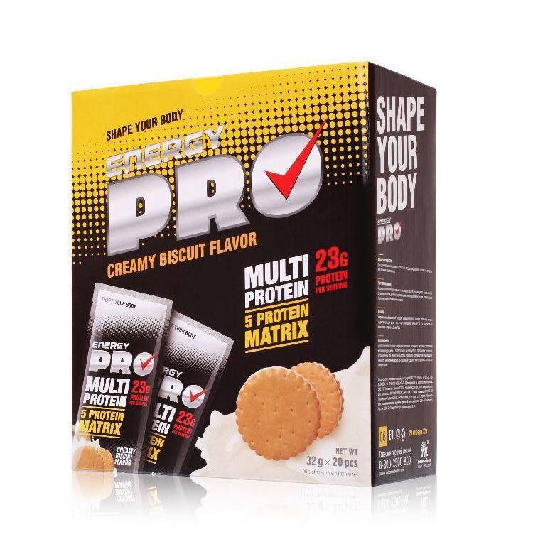 Мультипротеин  Energy Pro – Сливочное печенье