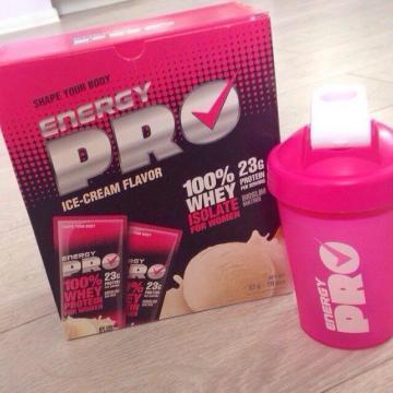 Сывороточный протеин для женщин Energy Pro Пломбир