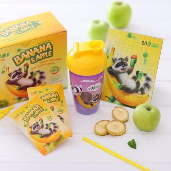 EDшка™ «Яблоко-банан» Смарт-коктейль