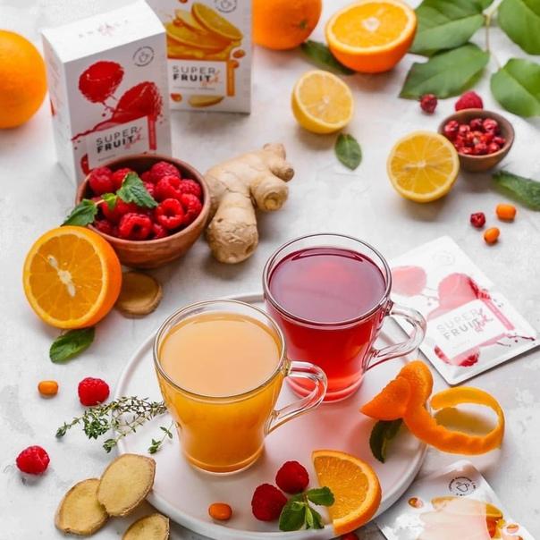 Super Fruit Drink «Малина» Горячий напиток Energy Life