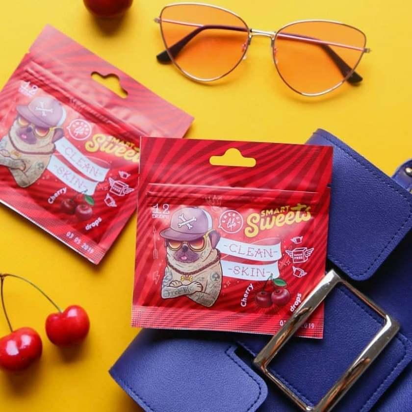 Функциональные конфеты Clean skin drops Чистая кожа Energy Life