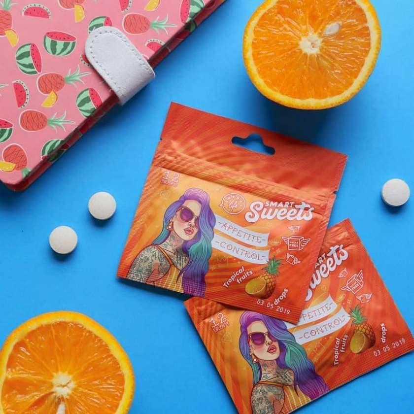 Функциональные конфеты Appetite control drops Контроль аппетита Energy Life