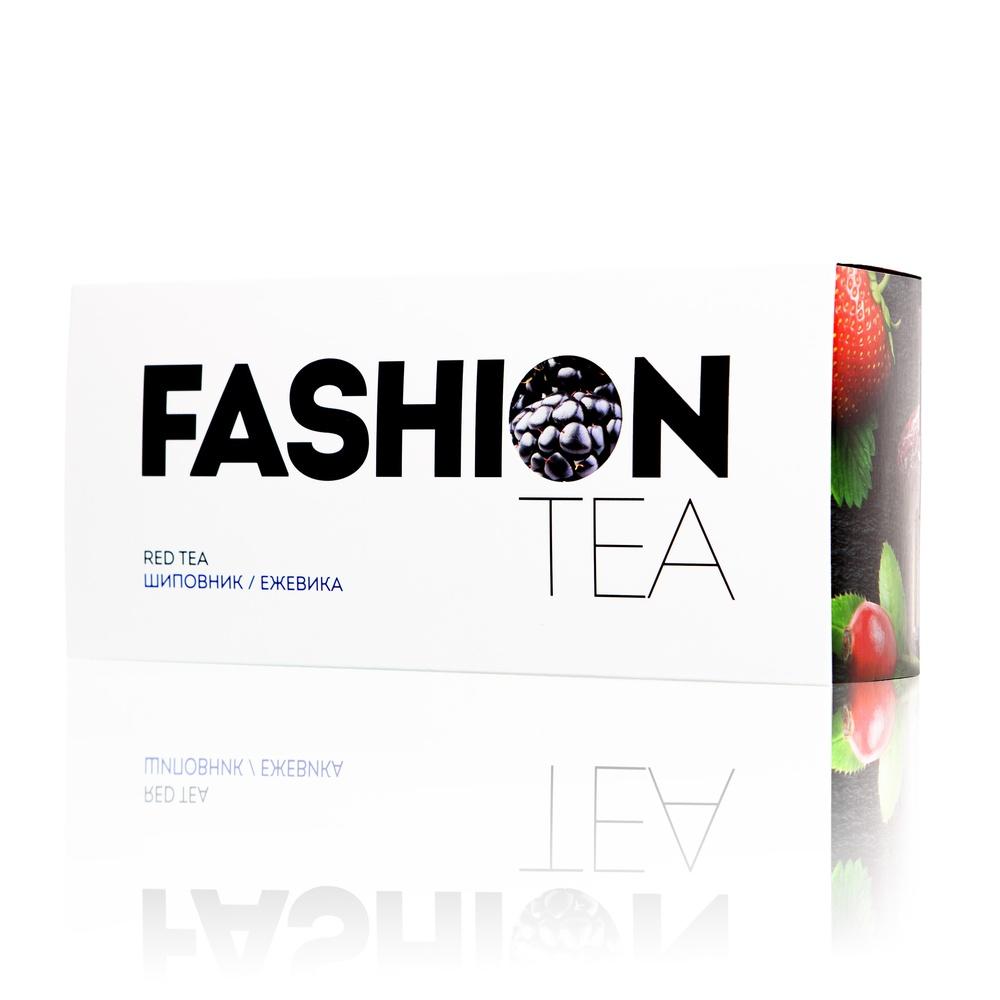 Красный чай Enerwood FASHION С шиповником и ежевикой