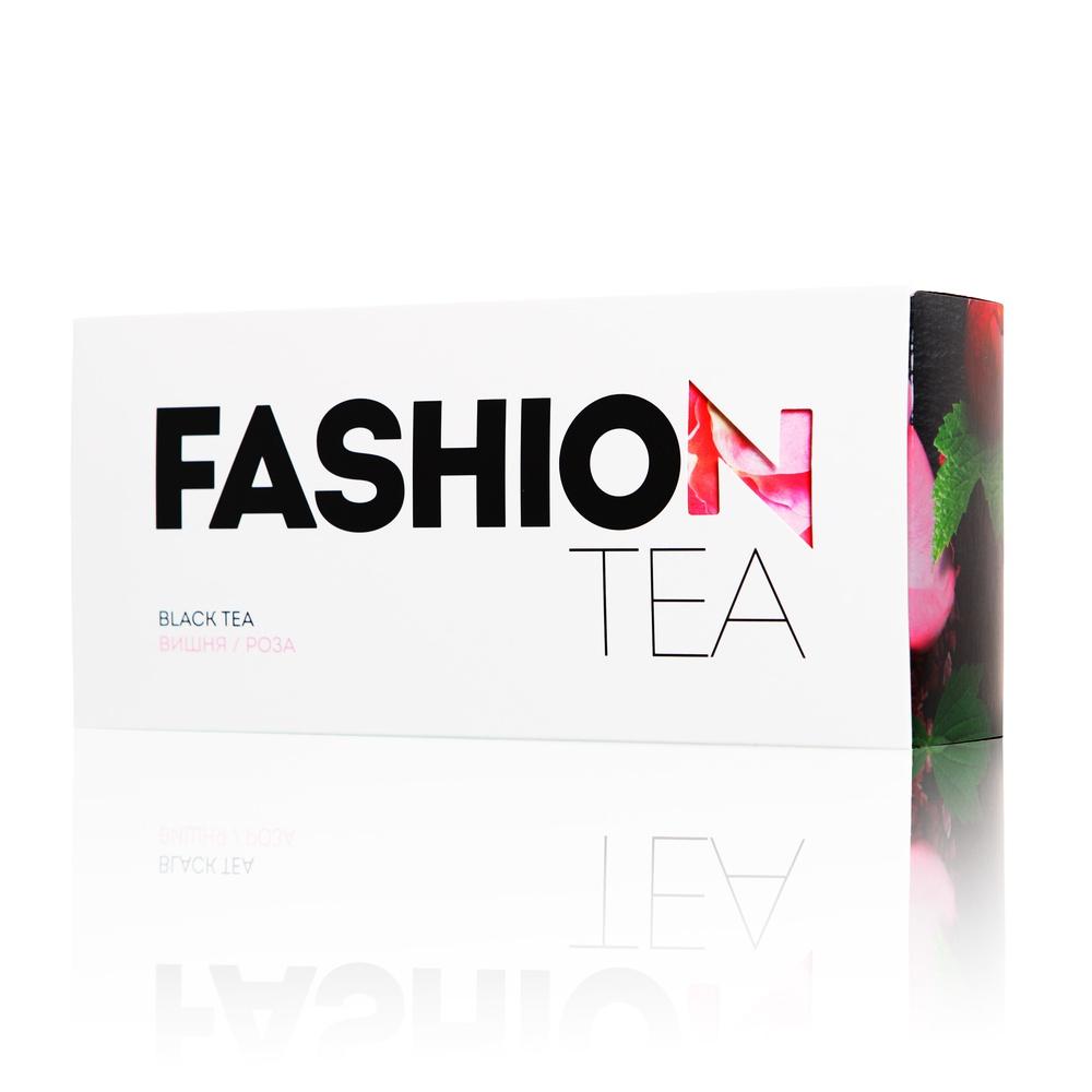 Черный чай Enerwood FASHION C вишней и розой