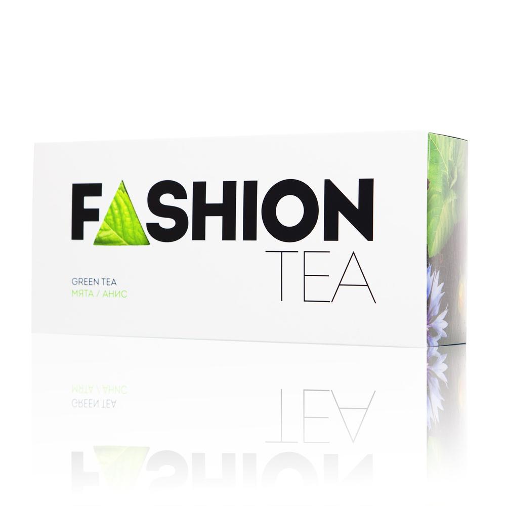 Зеленый чай Enerwood FASHION С мятой и анисом