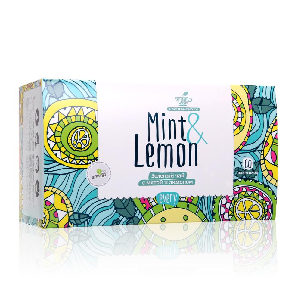 Every Mint Lemon Зеленый чай с мятой и лимоном