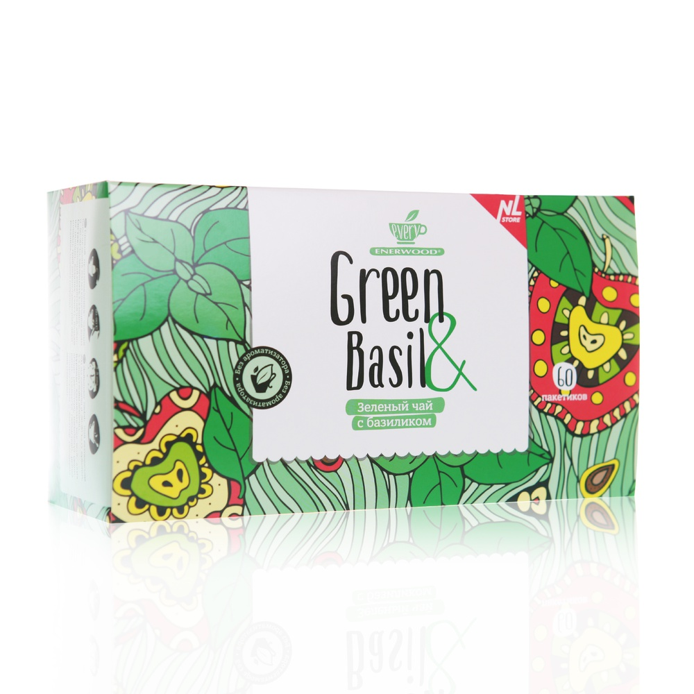 Every Green Basil Зеленый чай с базиликом