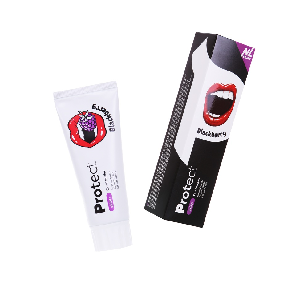 Sklaer Protect Blackberry Реминерализирующая зубная паста